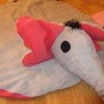 Krabbeldecke Elefant Kopf 3