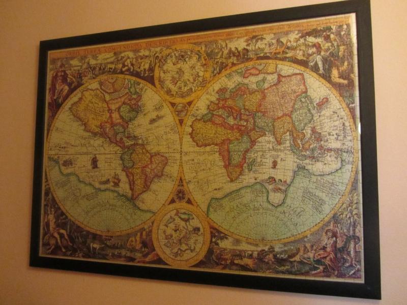 Erfreut Weltkarte Eingerahmt Galerie - Benutzerdefinierte ...