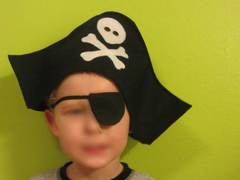 Piratenhut – knuffeliges.de