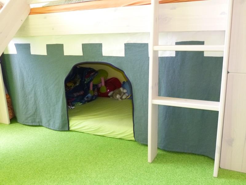Vorhang Hochbett Selber Nähen – Zuhause Image Idee