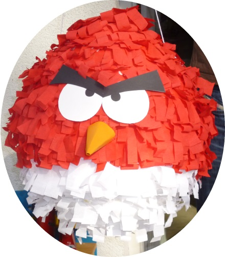 pinata basteln angry birds imagui. Black Bedroom Furniture Sets. Home Design Ideas