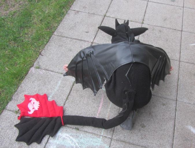 Ohnezahn Kostüm – knuffeliges.de