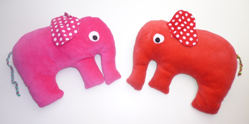 Nackenkissen Elefant – knuffeliges.de