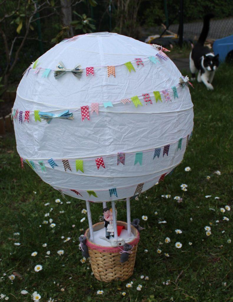 Hochzeitsgeschenk Heissluftballon Knuffeliges De